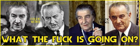 golda meir lyndon johnson