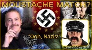 farrell nazi handlebar moustache