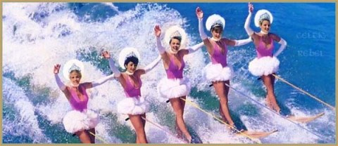 go-go's vacation water-ski