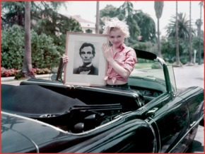 marilyn monroe jfk lincoln