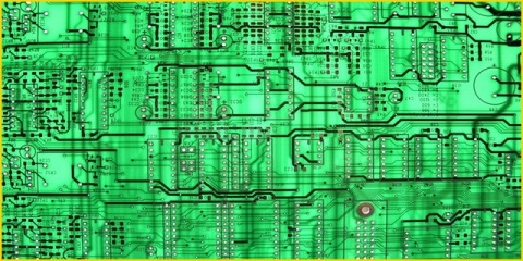 computer circuit logic board