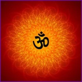 the word om or aum
