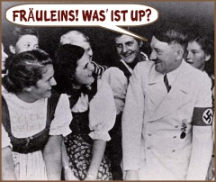 hitler setting the ladies up