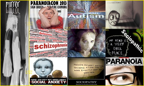 alternative media psychological disorder laundry list