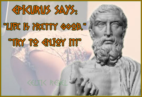 Epicurus Loves Peaches