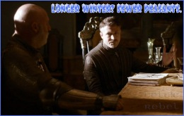 Little Finger Game of Thrones Small Council