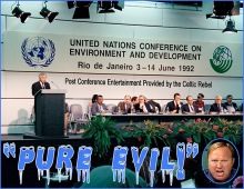 United Nations Rio Summit 1992 Jones Evil