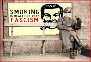 smoking nazi fascism