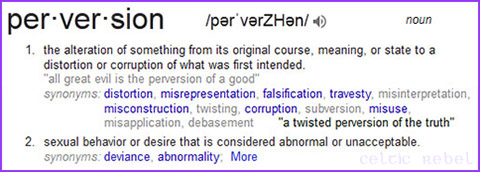 perversion defined
