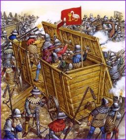 Hussite Wagon Perimeter