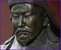 genghis khan temüjin statue