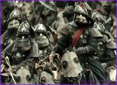 mongol riders approaching fear terror