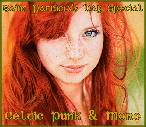 flaming reptile redhead lucy saint patricia