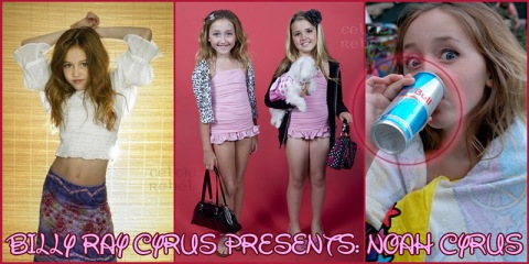 Noah Cyrus, Friend, Testicle Juice