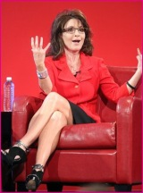 Sexy Palin in Chair