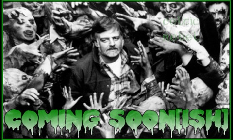 Director George A. Romero on Set 1985