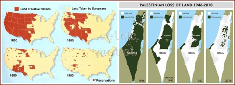 palestine israel america natives indians truth