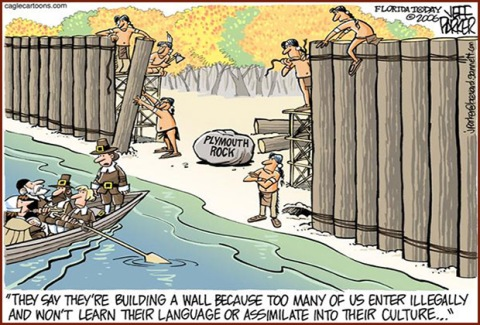 plymouth rock border fence illegal immigration